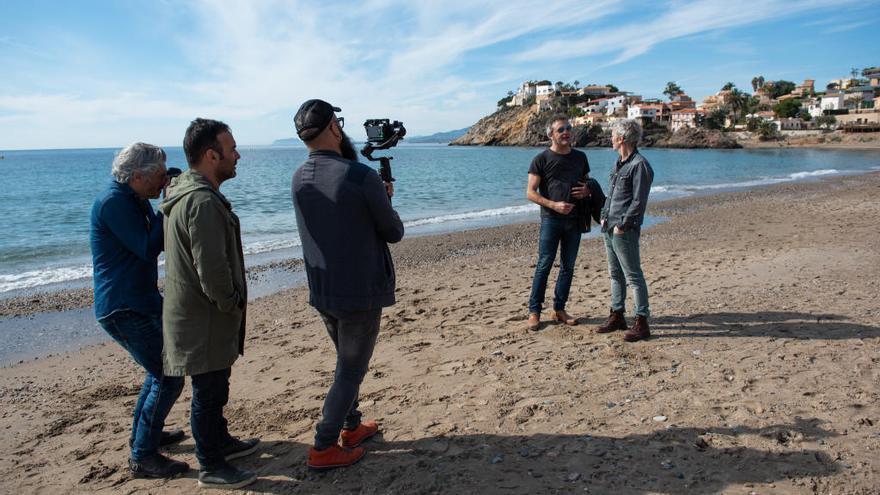 Ariel Rot y Carlos Tarque se ponen a escuchar a Murcia