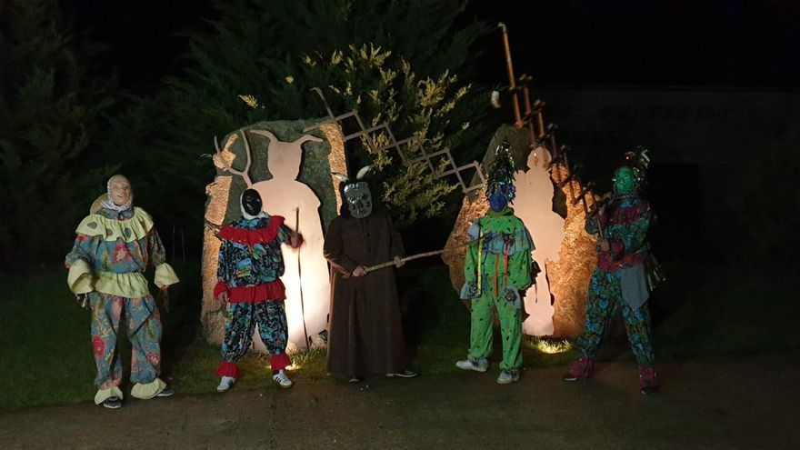 Carnaval en Zamora | Salida fugaz del demonio de Villanueva de Valrojo