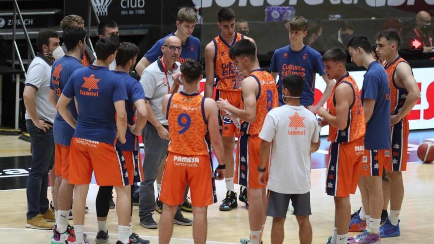 Tercer partido filial Valencia Basket ascenso a LEB plata