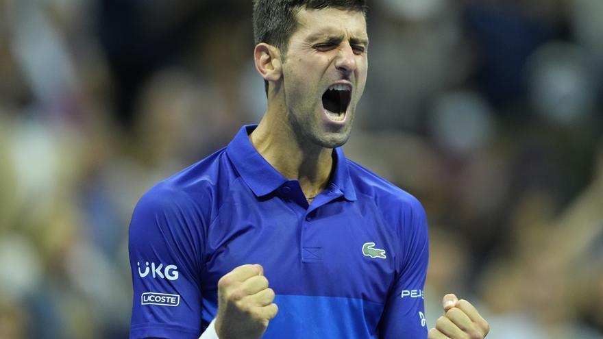 Djokovic contra Medvedev, una final del US Open para la historia