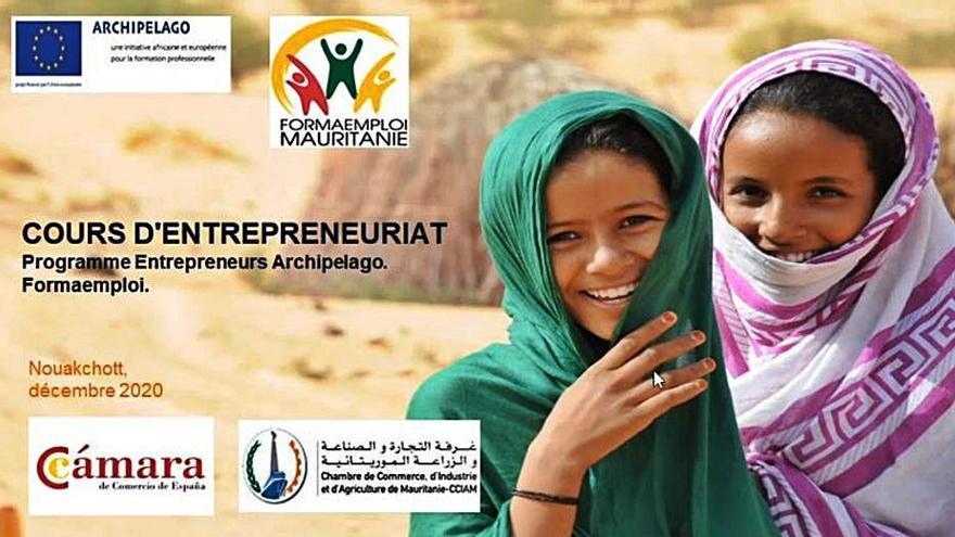 La Cámara de Comercio de Santa Cruz de Tenerife imparte formación profesional en Mauritania