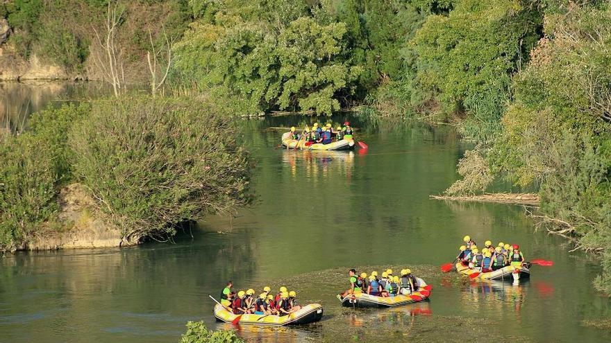 Un descenso único por el entorno del río Segura
