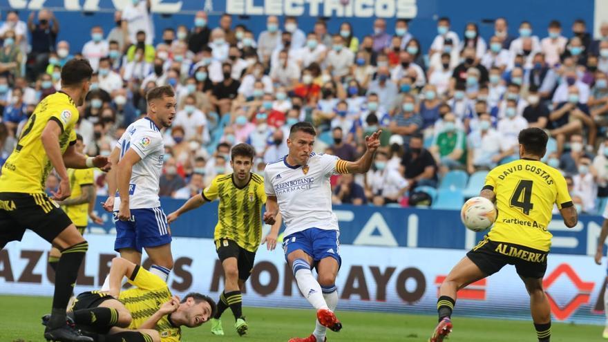 Real Zaragoza 0-0 Real Oviedo: Con la rasmia no es suficiente