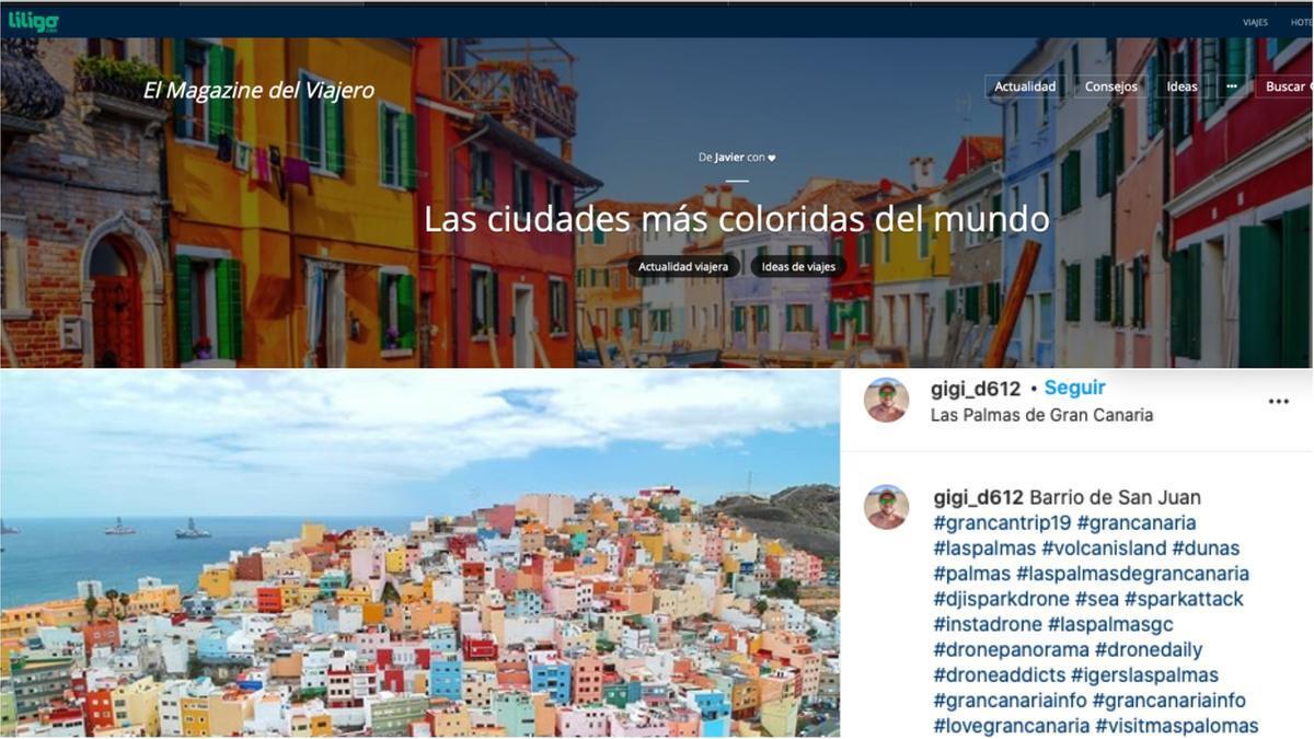 Reportaje Las Ciudades más coloridas del mundo