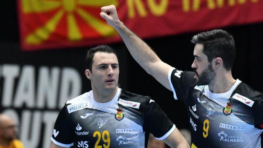 España arrolla a Macedonia con un gran arranque en el segundo tiempo