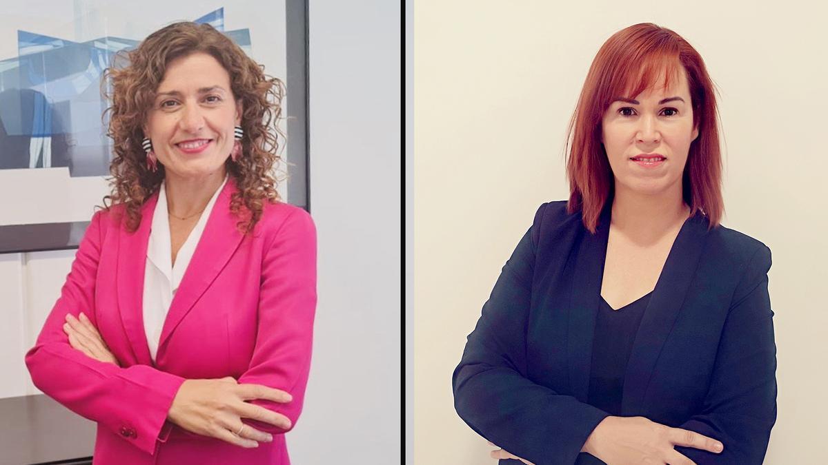 Trinidad Tolosa y Raquel Cobo compaginan un puesto de dirección en Banco Sabadell con la maternidad y educación de sus hijos.