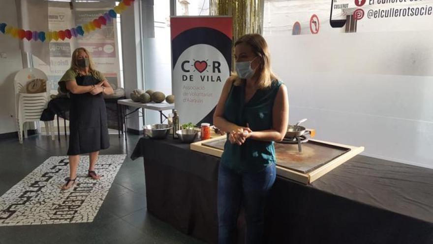 Cor de Vila reinicia los cursos de cocina y actividad saludable