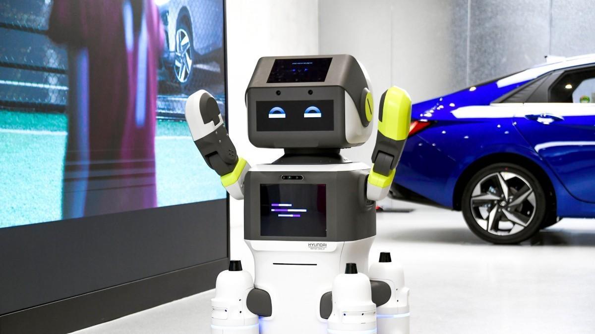 DAL-e, el nuevo robot humanoide de atención al cliente de Hyundai