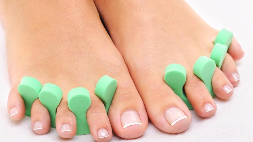 Los peligros de abusar del esmalte de uñas en los pies