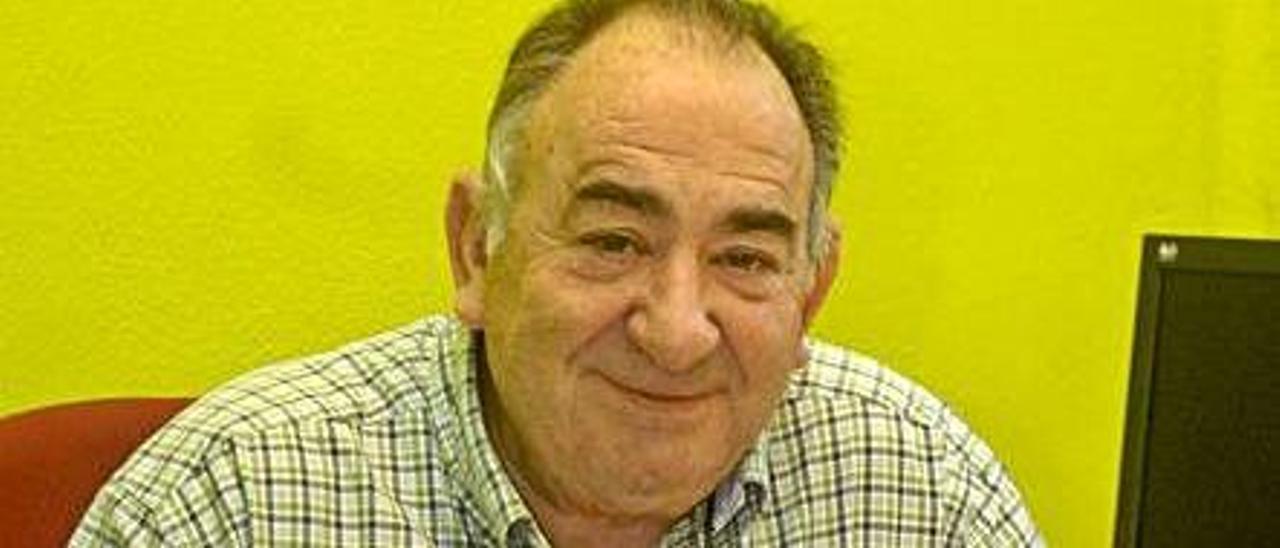 Ricardo González, de IU Mieres.