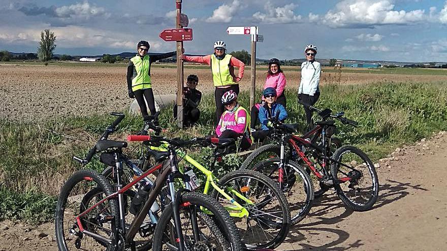 Women in Bike Zamora: Energía femenina a pedales