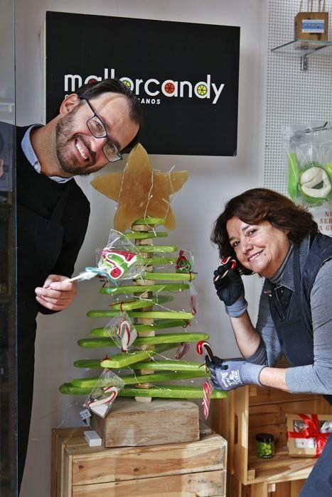 Handgemachtes Süßes: Mit Mallorcandy am Mercat de l'Olivar in Palma hat sich ein Verwaltungsangestellter eine bunte Welt erschaffen