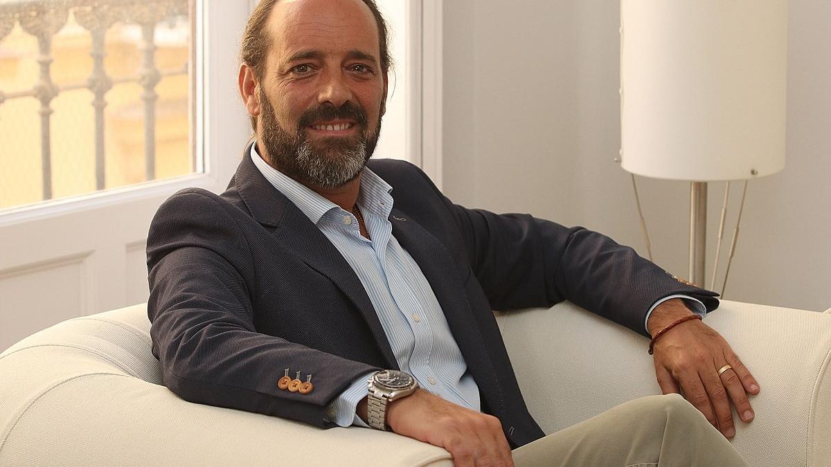 Juan Cassá, en una fotografía hecha para una entrevista en este periódico.