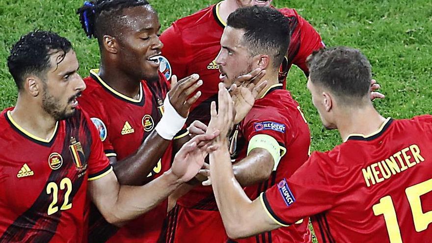 Bélgica firma un pleno