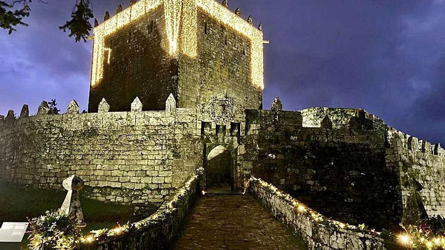 El castillo de Soutomaior recuperará su molino para las visitas al público
