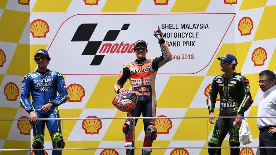 Resultado y clasificación del Gran Premio de Malasia de MotoGP