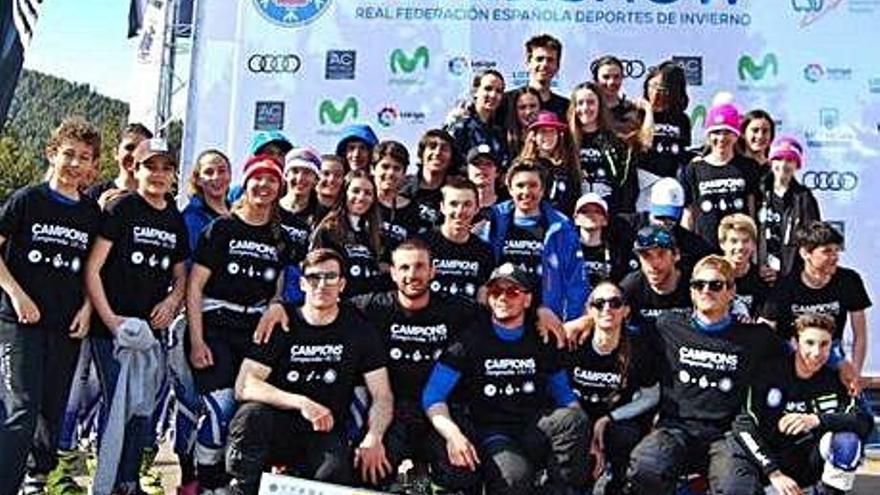 La Molina Club d'Esports alça el títol de la Copa d'Espanya