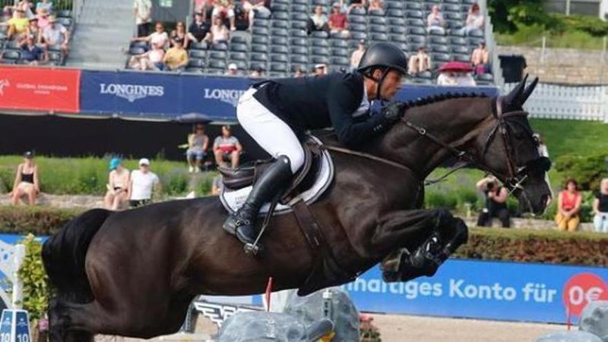 Sergio Ramos también compite en la 'Champions League' de la equitación
