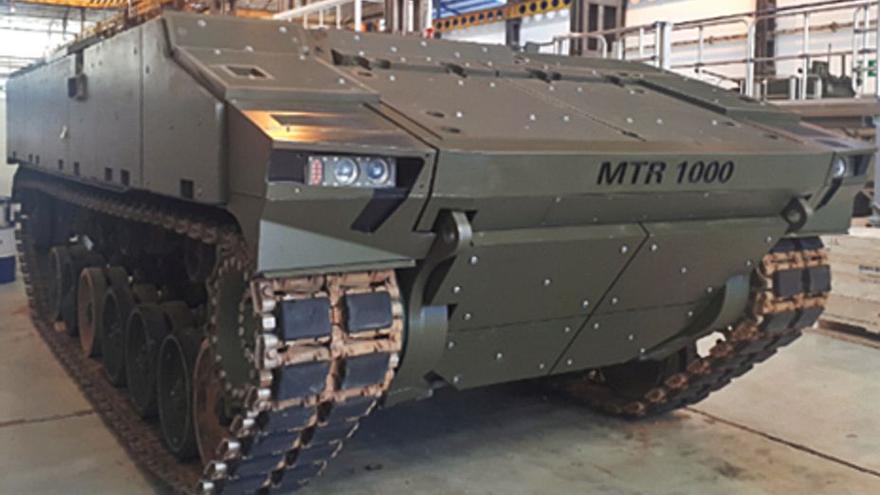 Santa Bárbara aspira a fabricar carros de zapadores no tripulados