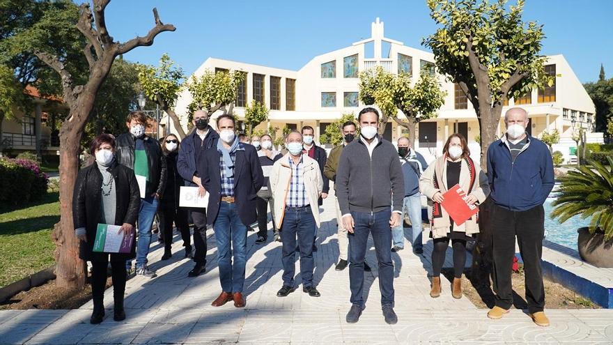 PSOE y Adelante Málaga denuncia la mala gestión de la cafetería de Parcemasa