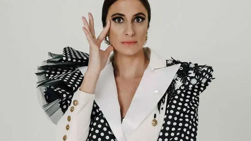 María Peláe: de imitar en su terraza a 'Tu cara me suena'