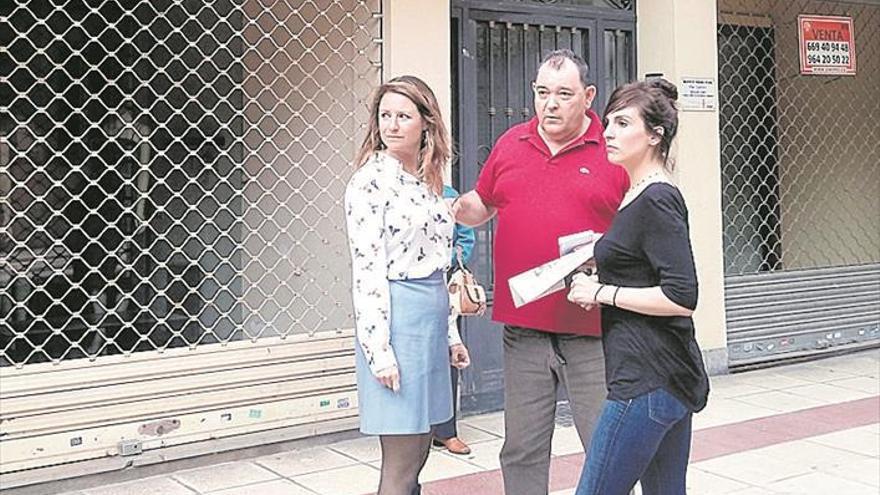 El PP pide la semipeatonalización del último tramo de la calle Navarra