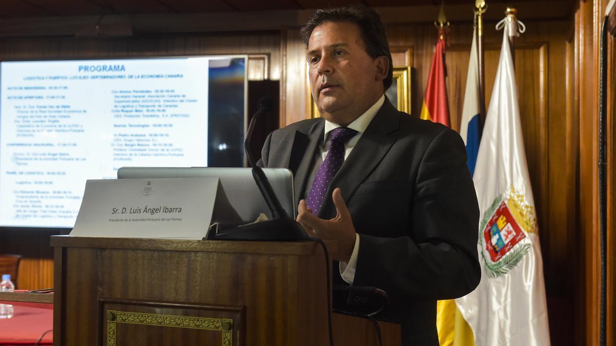 Luis Ibarra, presidente de la Autoridad Portuaria