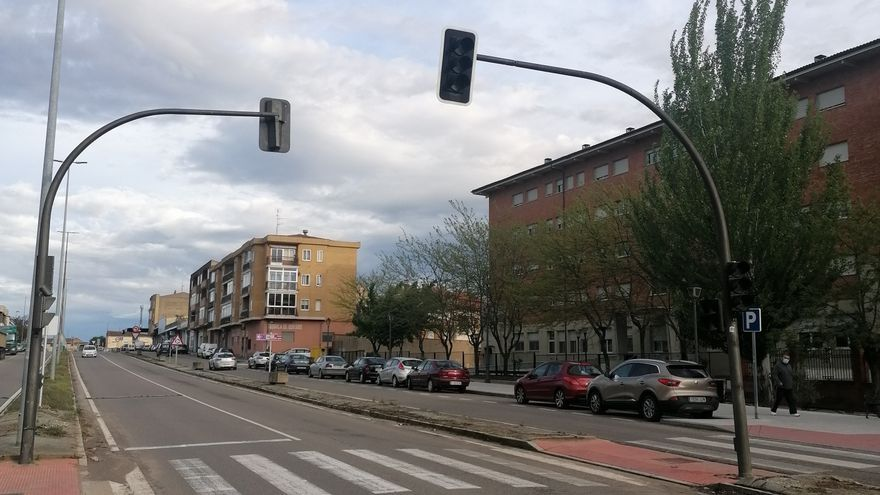 Ciudadanos exige la reparación de la red de semáforos de dos avenidas de Toro
