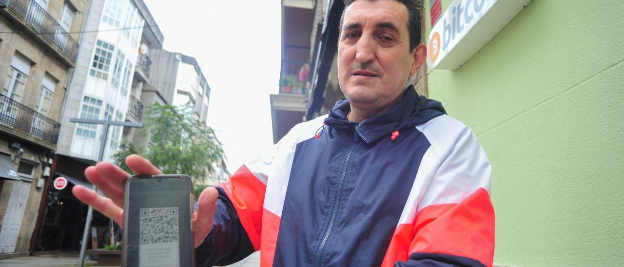 Luis Oliveira, el comprador de bitcoins