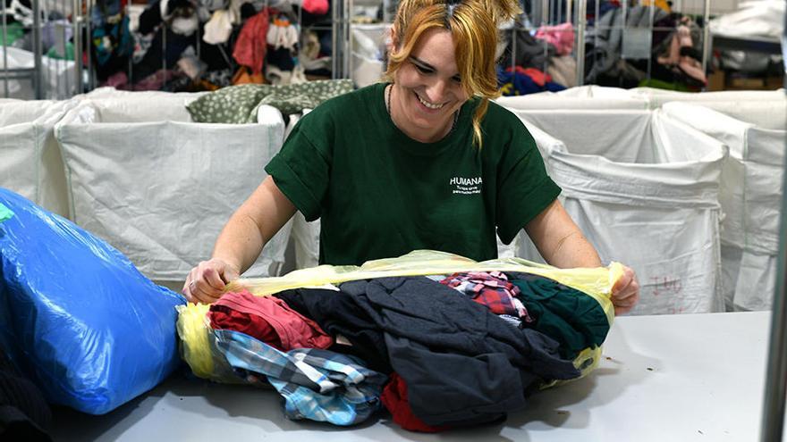 Fundació Humana recull més de 18 tones de tèxtil amb finalitats socials a Castelló