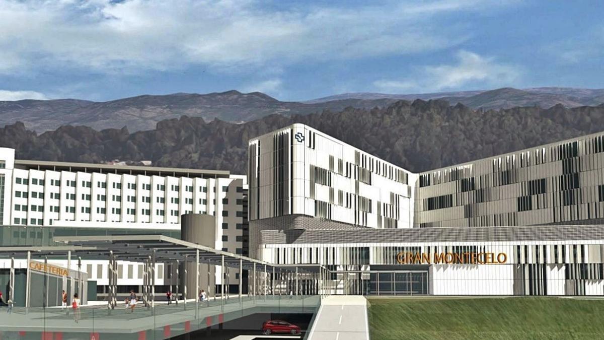 Recreación del nuevo complejo que formará el Gran Montecelo. |   // FARO