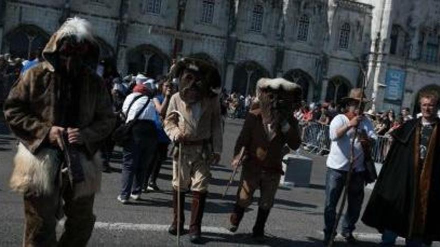 Una mascarada en Lisboa el pasado año