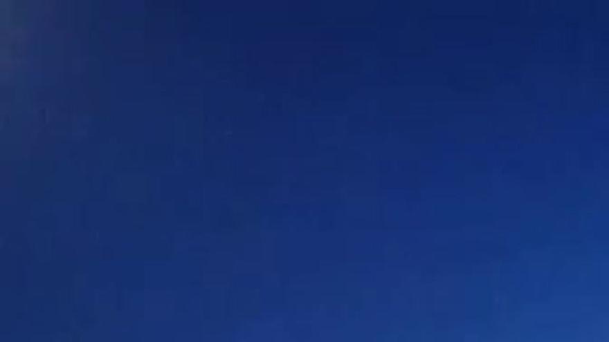 Avistamiento de un objeto sobre el cielo de Mérida