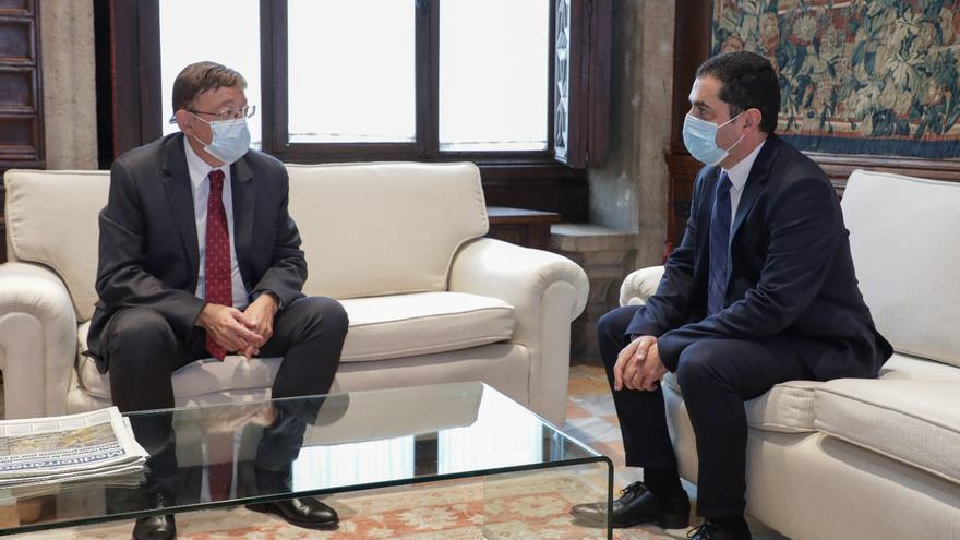 Ofensiva de Puig para obligar a Mazón a sumarse al Fondo de Cooperación