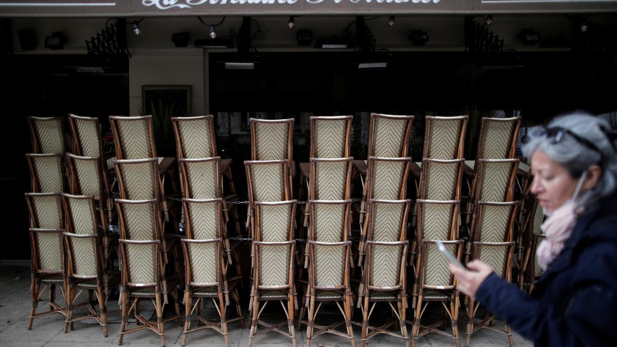 Los restaurantes se preparan para abrir en París
