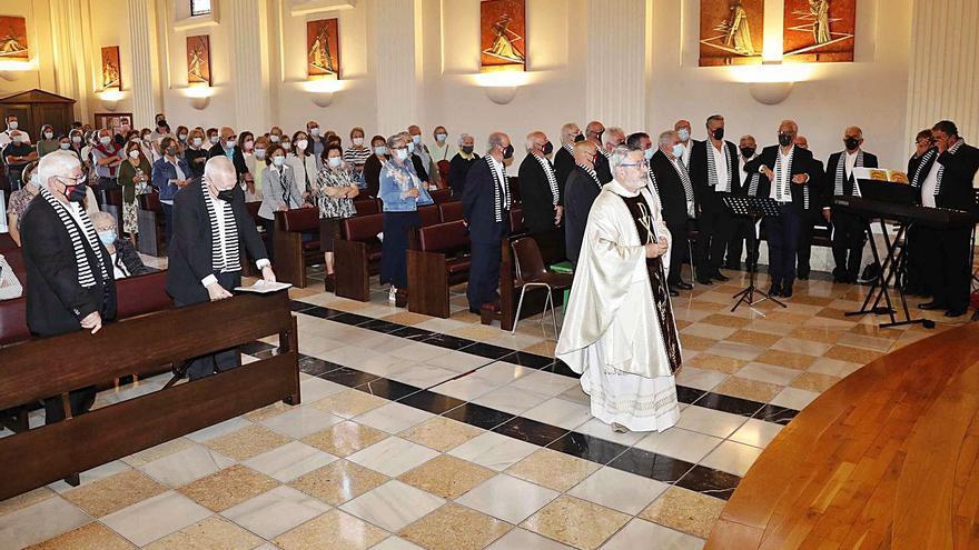 Liturgia cantada en O Castro