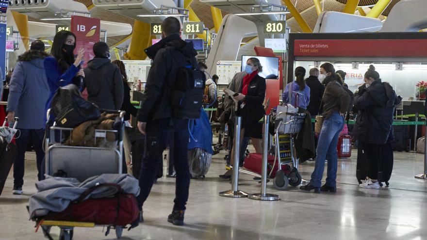 Nueva prórroga hasta el 16 de febrero de las restricciones en vuelos con Reino Unido