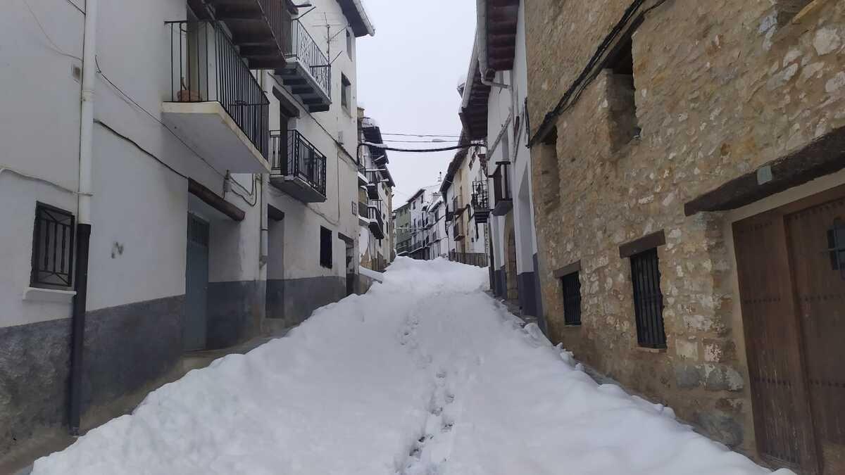 Las mejores imágenes de la borrasca Filomena en Castellón