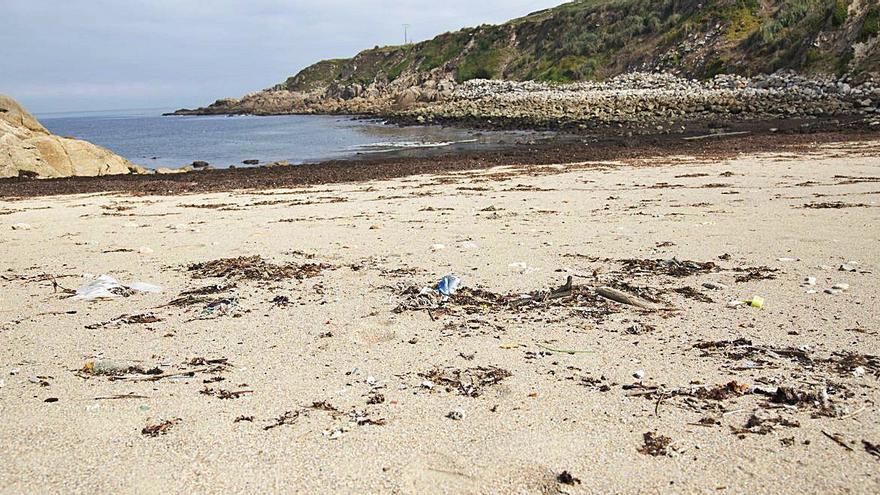 El Concello habilitará la cala de Bens como playa para perros y bañistas