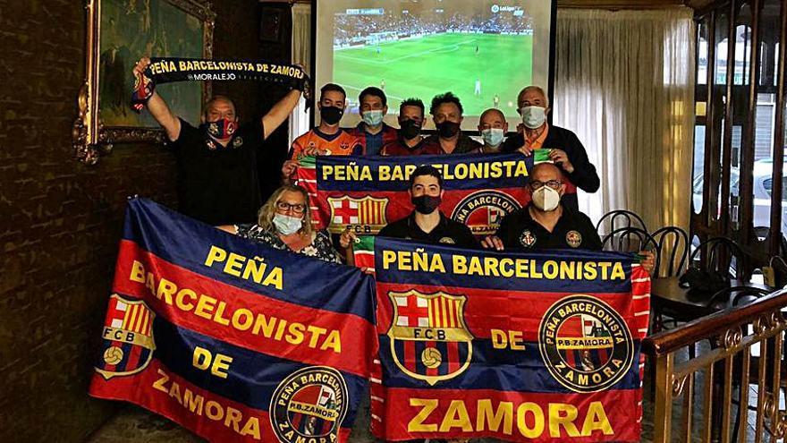 La Peña Barcelonista Viriato busca apoyos para llegar a los 200 socios esta misma temporada