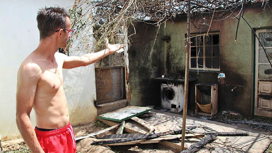 Los damnificados por el incendio de El Paso ya pueden reclamar las ayudas al Estado