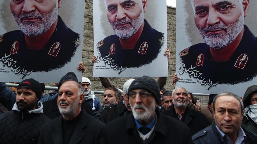 Irán condena a muerte al espía de la CIA involucrado en el asesinato de Soleimaní