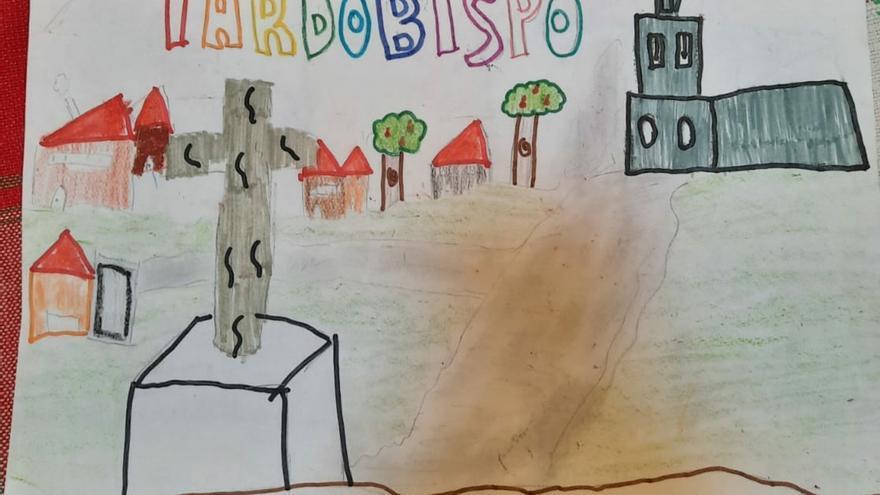 GALERÍA | Así ven su pueblo los niños de Tardobispo