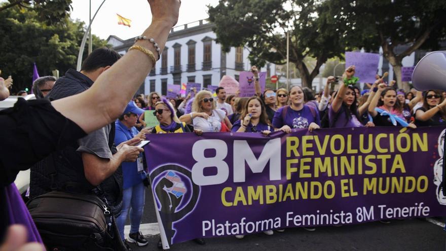 La Plataforma Feminista 8M llama a tomar las calles de Canarias