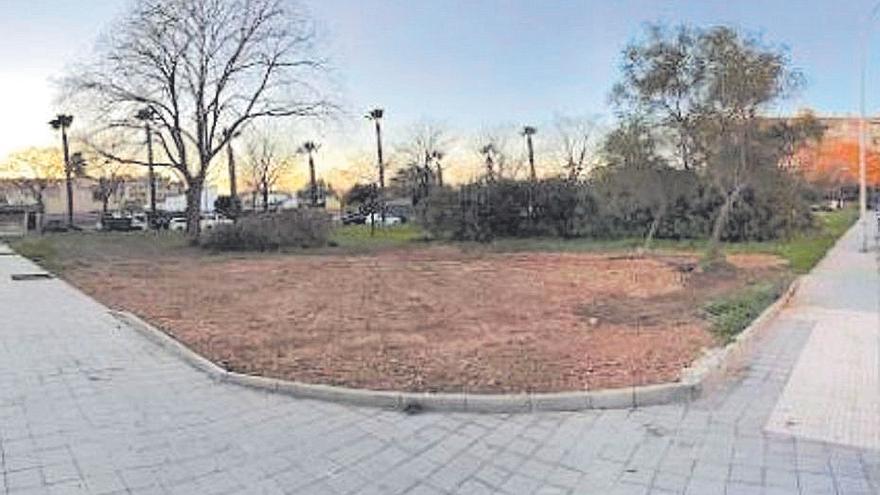 Ya no queda ni rastro de la caseta de obras de la calle Aragó