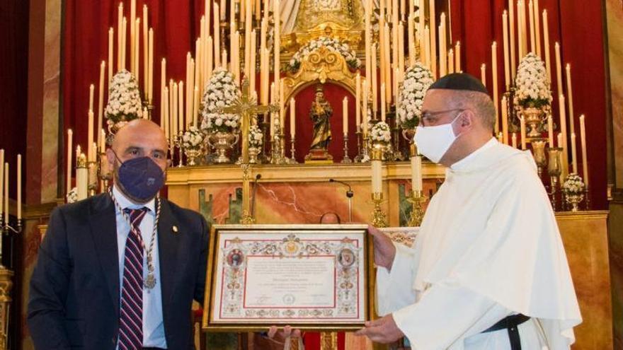 La hermandad de la Merced recibe el nombramiento de Mercedaria