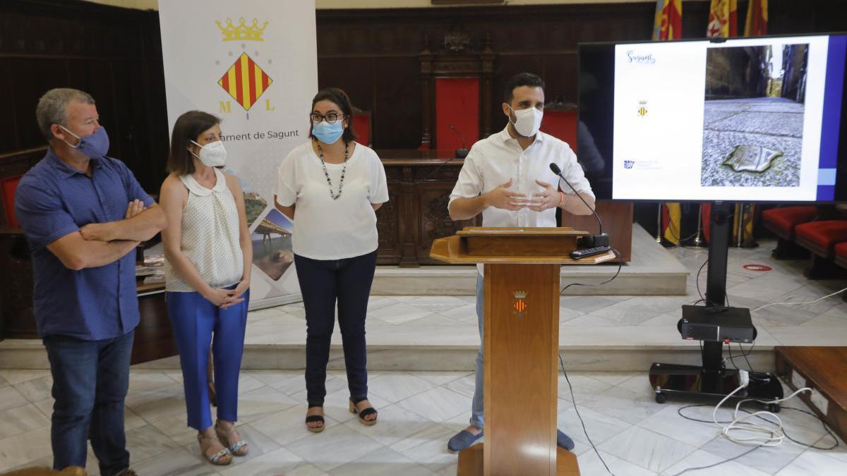 El alcalde, en un acto realizado la semana pasada para presentar iniciativas en la judería.