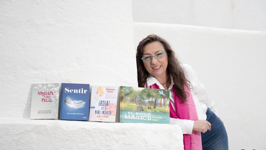 """Alessandra Rossin, escritora: """"Los libros nos permiten hacer un viaje hacia nuestro interior"""""""