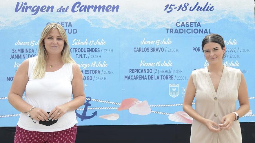 La Feria de la Virgen del Carmen de La Carihuela comienza este jueves bajo fuertes medidas sanitarias por el Covid