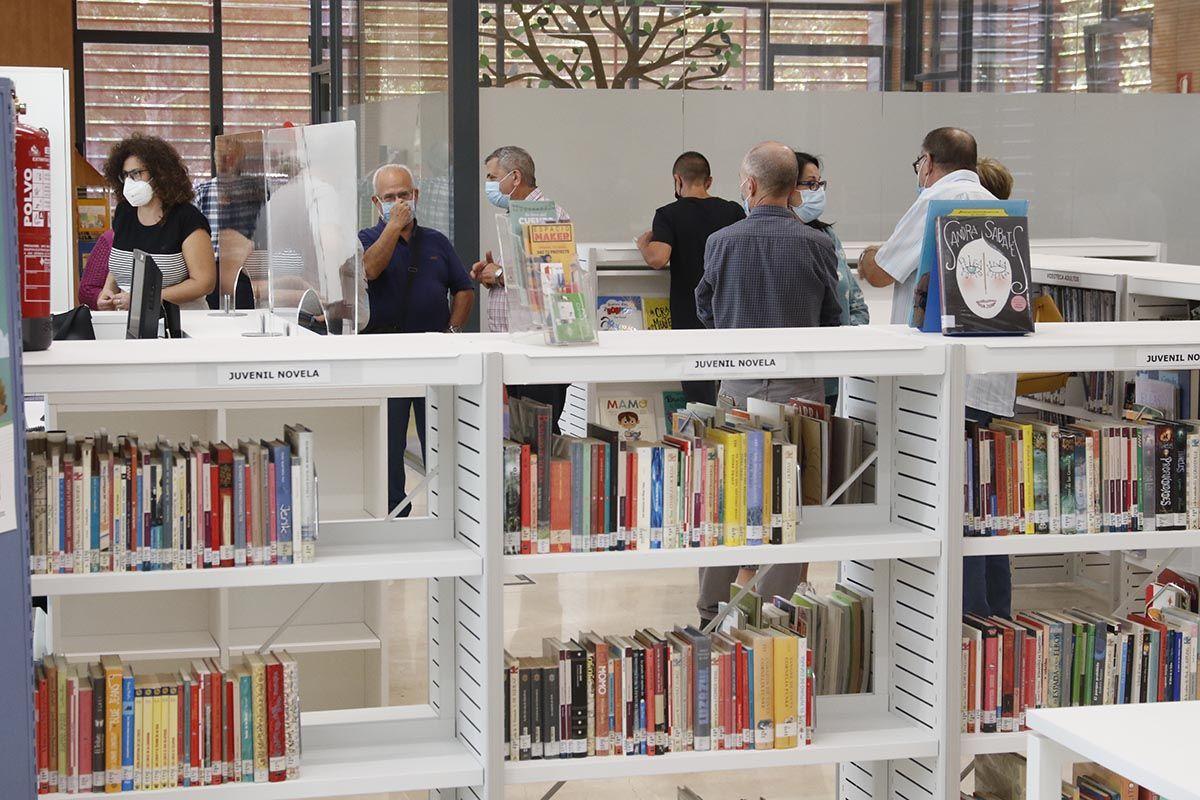 Los vecinos del distrito sur conocen la Biblioteca de la Normal